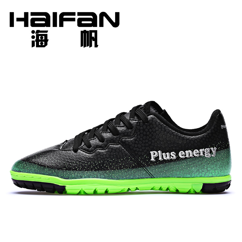 Hoi fan counter genuine broken nails soccer shoes men tf grass nail soccer training shoes breathable wear and children made