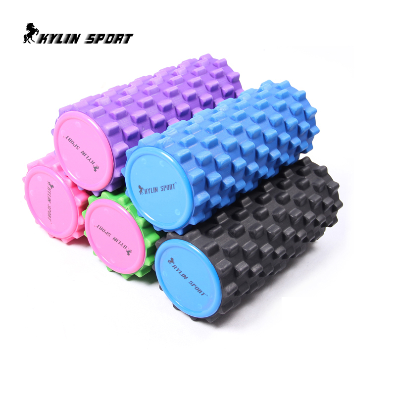 Hollow spike shaped relax column column foam roller yoga balancing stick pilates yoga deep massage