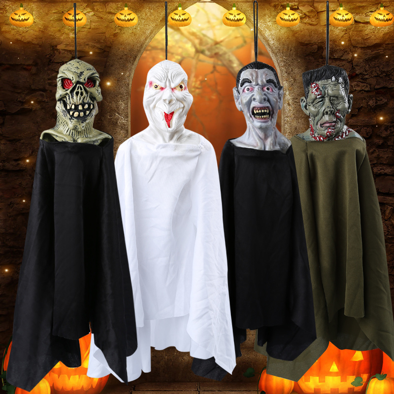 Holloway halloween decoration ktv bar supplies fun couple dress up props haunted house horror ghost hanging hanging 18361