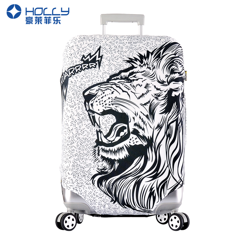 Holly thick elastic luggage sets trolley suitcase sets luggage sets box sets of thick dust protective sleeve