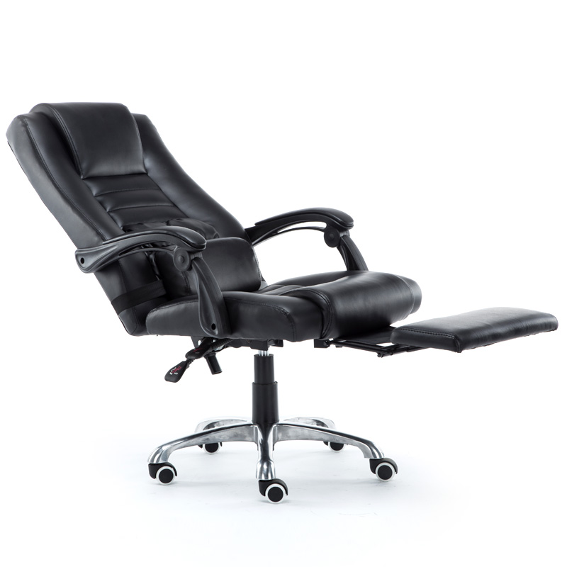 Home computer chair reclining office chair leisure chair swivel desk chair gaming chair leather chair staff chair boss chair seat