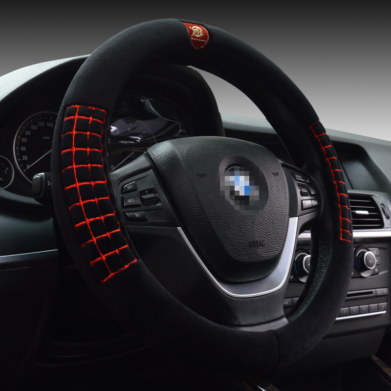 Honda civic/new fit/honda crv/accord/feng fan ling faction car plush car steering wheel cover Set
