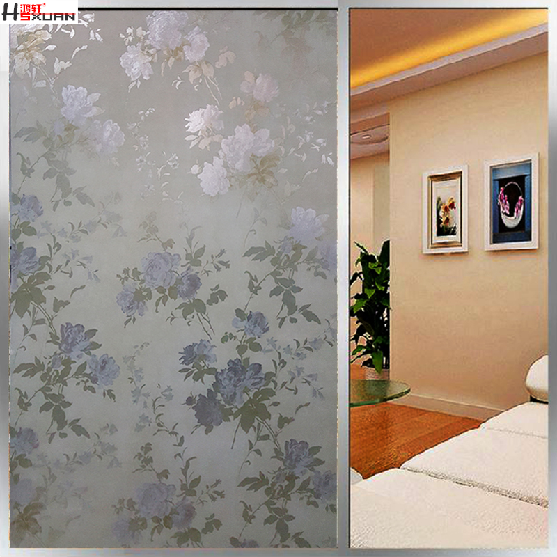 Get quotations · hongxuan glass door stickers window stickers wallpaper bedroom window grilles paper bathroom window stickers affixed to