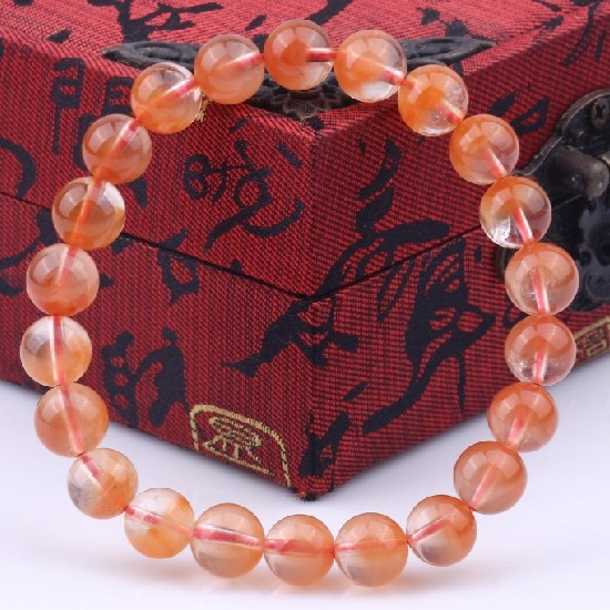 Hope pavilion genuine natural red rabbit bracelet red crystal bracelet crystal bracelet female models jewelry gift