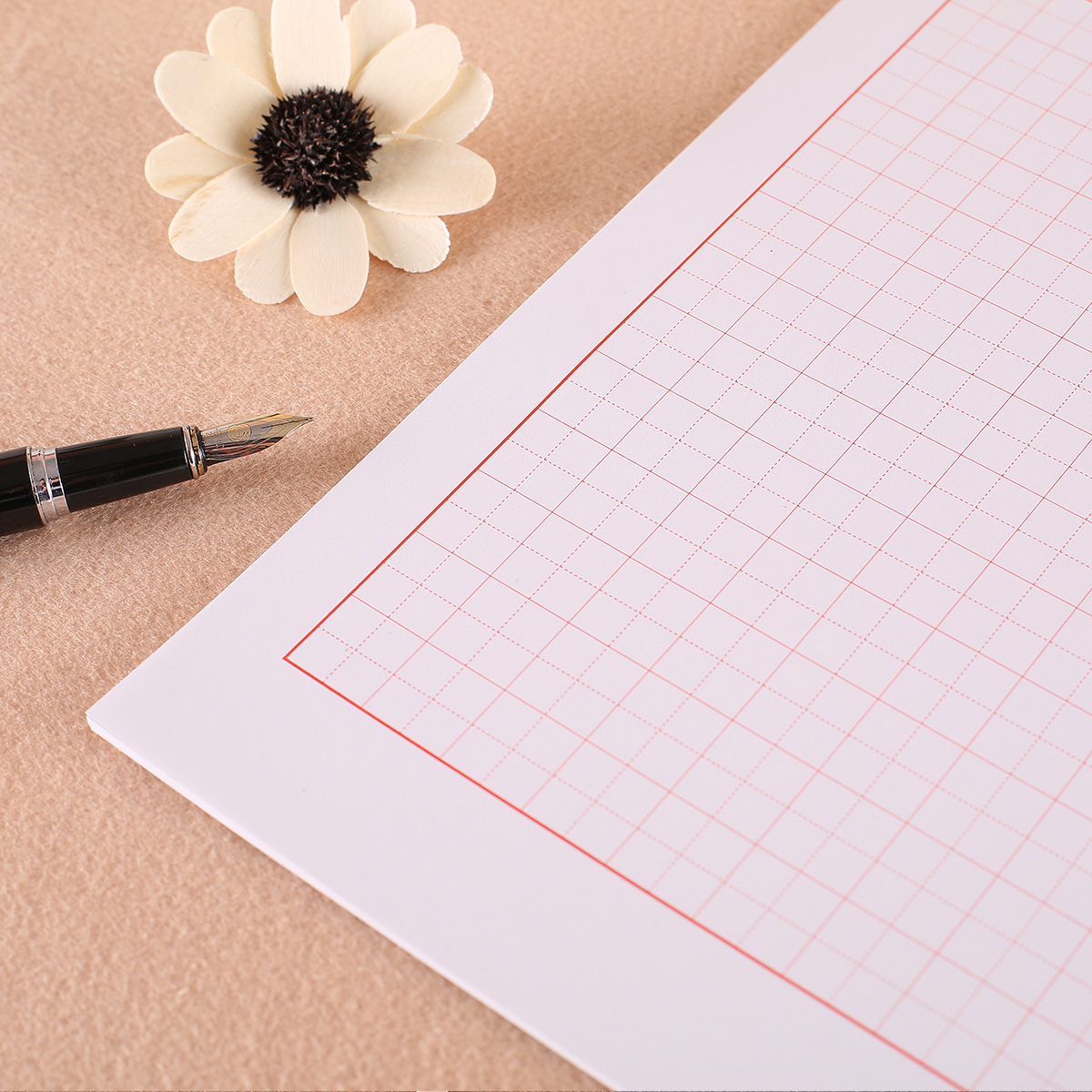 Horizontal grid swastika pygmy word lattice entry pen copybook regular script running script xing kai calligraphy paper to practice this exercise book