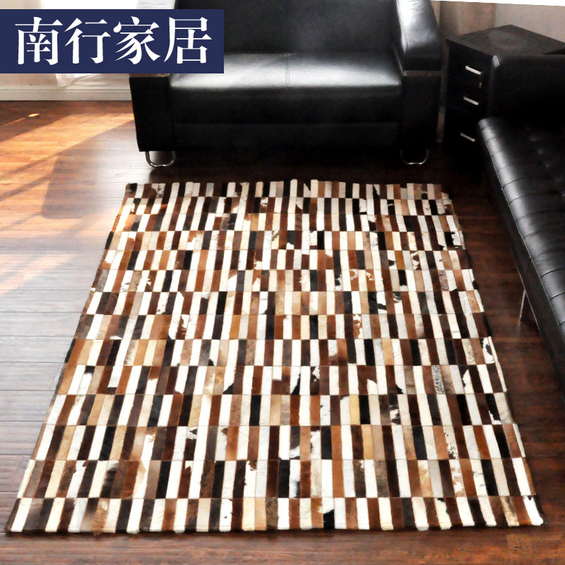 Get Quotations Horsehair Personality Living Room Carpet Bedside Rug Pad Can Be Customized Luxury Leather