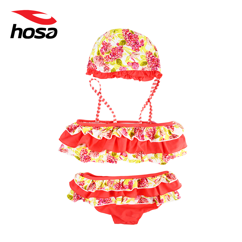 Hosa hosa swimsuit small boy fall and winter children split swimsuit three sets of baby swimsuit spa 116121201