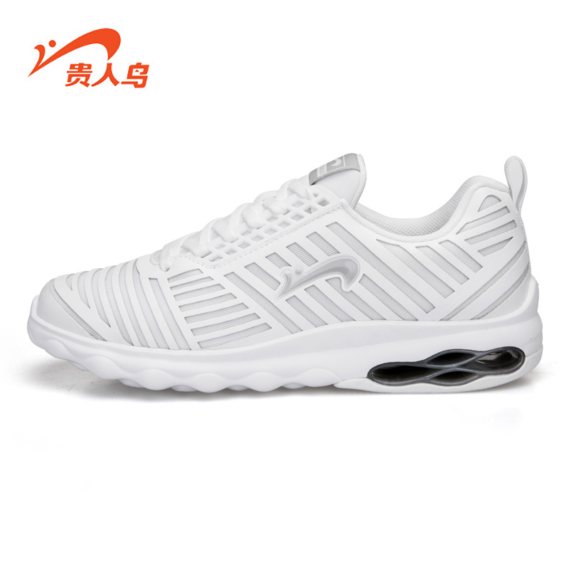 Hot men's elegant birds genuine 2016 autumn new sports shoes breathable cushioning wear and small white shoes running shoes