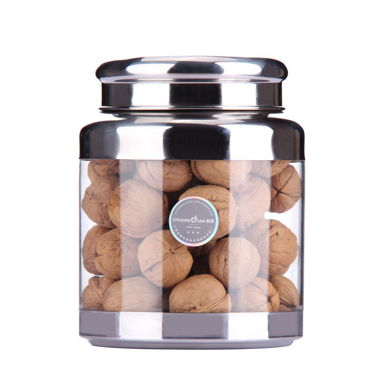 Hot visual portable 304 stainless steel canisters canister canister chaguan pu'er tea tea with zero