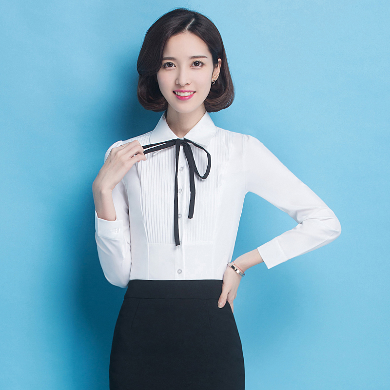 Buy Hotel uniforms sleeved shirt women wear big yards ol interview dress  suit hotel reception attendant uniforms in Cheap Price on Alibaba.com ad0b9483b366