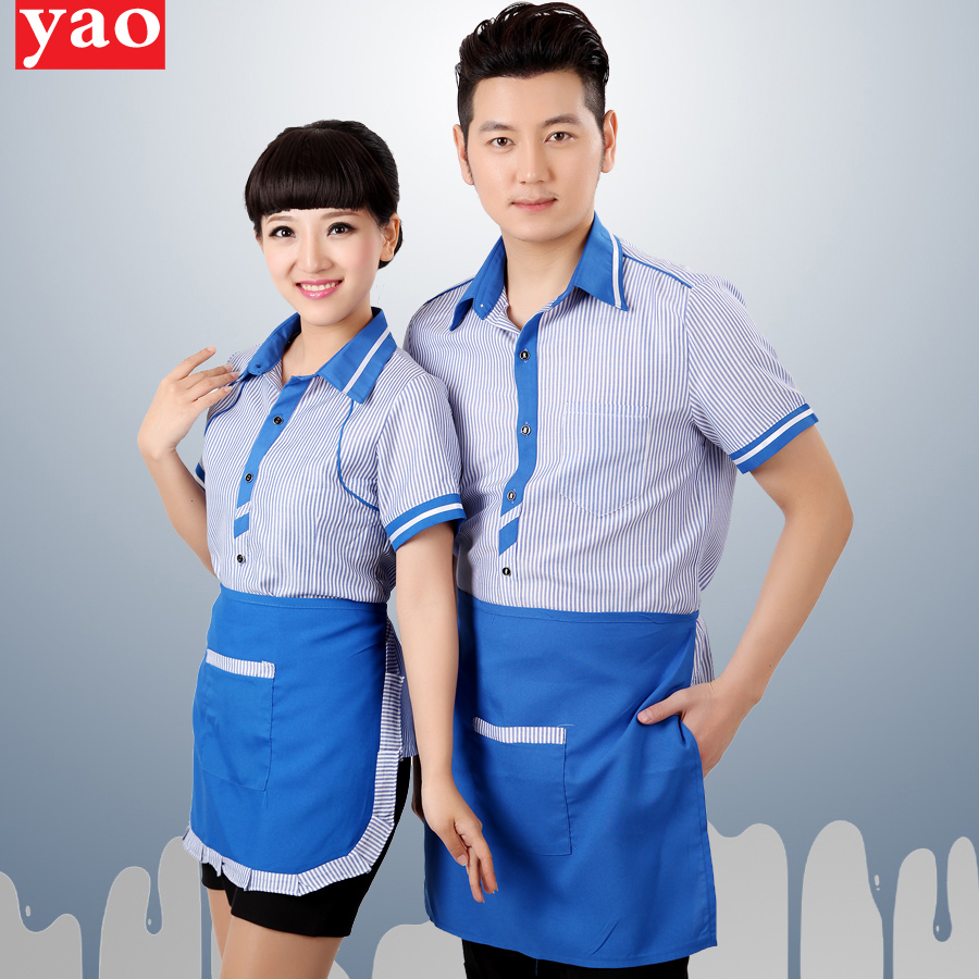 Hotel uniforms summer female hotel restaurant waiter clothing hotel restaurant waiter overalls overalls uniforms