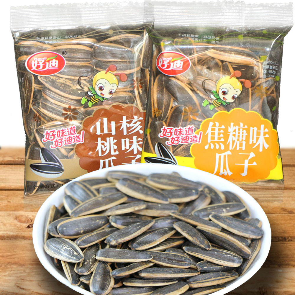 Houdy melon seeds sunflower seeds office casual snacks [rellenitos/pecan flavor/coke sugar flavor g ]