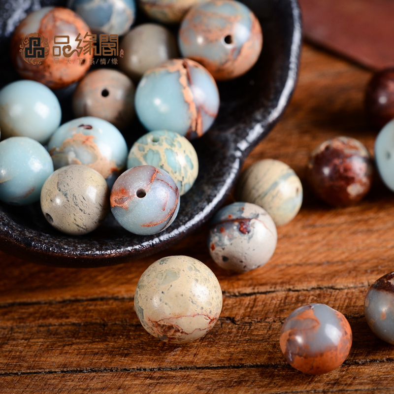 House edge products natural shoushan stone beads loose beads spacer beads xingyue bodhi accessories man playing beads diy semi precious stones