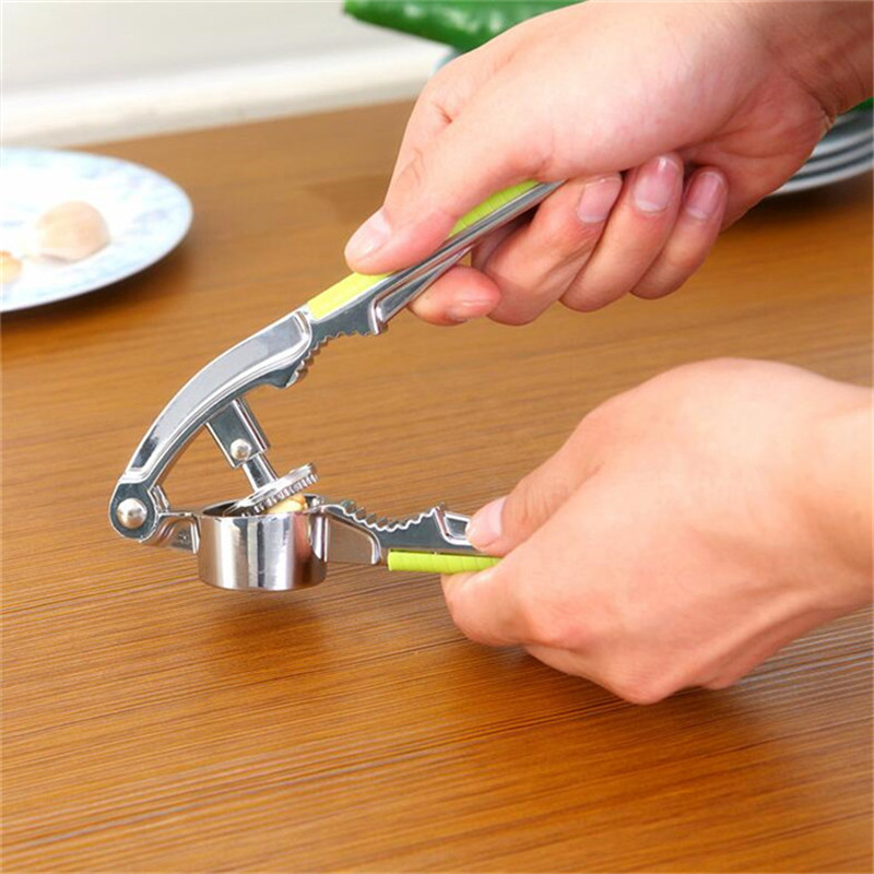 Household manual pressure garlic garlic is garlic kitchen supplies daosuan squeeze garlic peeling garlic device with a pressure clip walnuts Garlic clamp