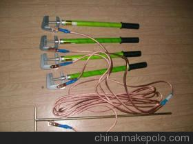 Households within 10kv high voltage ground wire copper head spring JT-2305 copper ground wire high voltage grounding rods