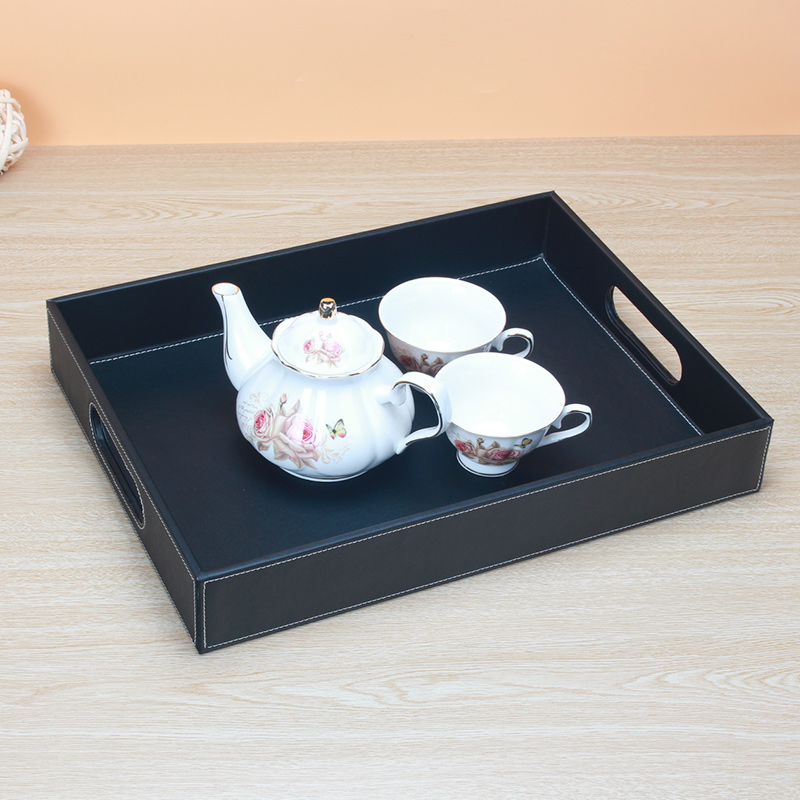 However korea leather desktop storage box home fashion free shipping european creative fruit tray tray tray of drinks