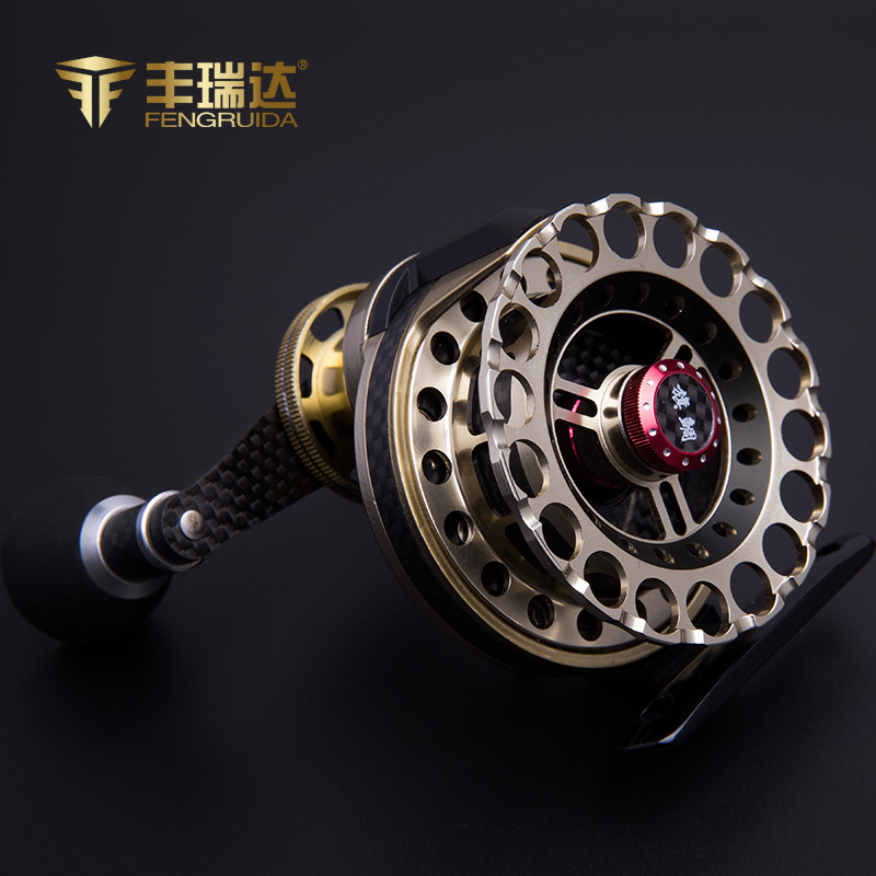Hsbc raida raft reels micro round lead raft fishing round fishing vessel fishing line round full metal front wheel hit the fish with Raft raft round