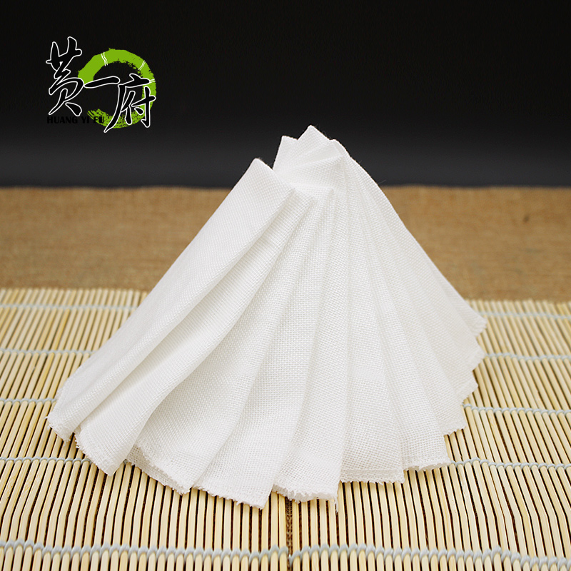 Huang fu round nonstick gauze cotton cloth steamer steamed dumplings dumplings large household steaming tray cloth mat Diabla cloth