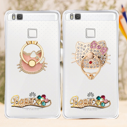 Huawei glory glory edi-al10 note8 phone shell female models ring stand protective sleeve popular brands of soft silicone cartoon