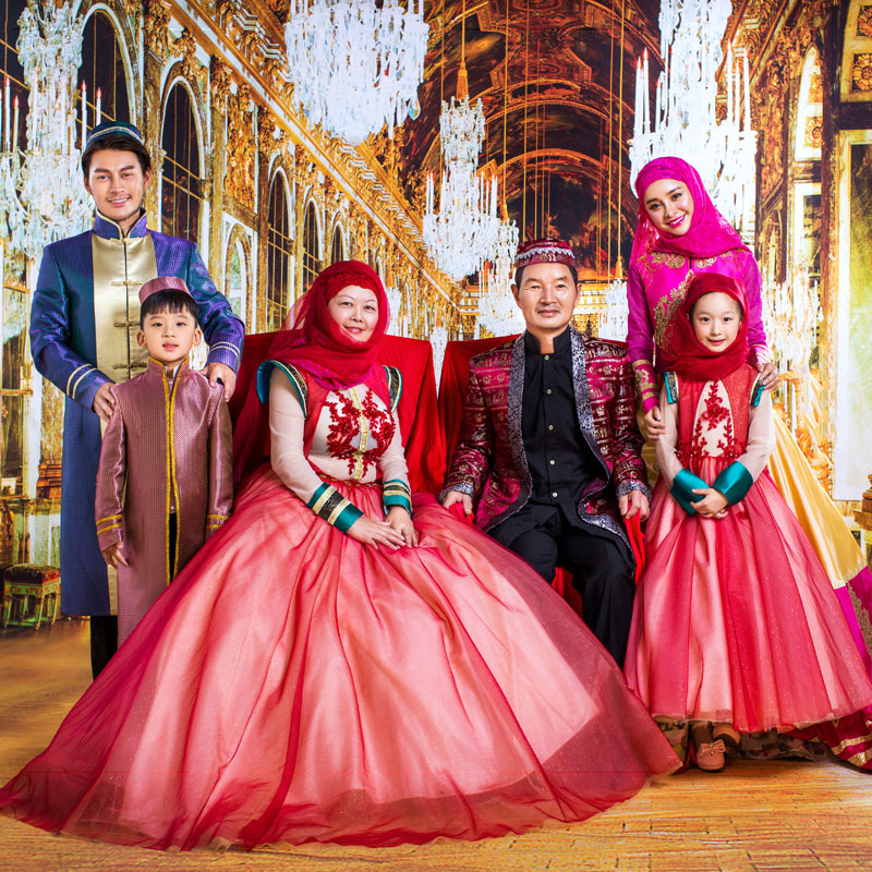 Buy Pakistani Muslim Family Portrait Clothing 2016 New Wedding Dress Photo Studio Theme Dress Costumes Female In Cheap Price On Alibaba Com
