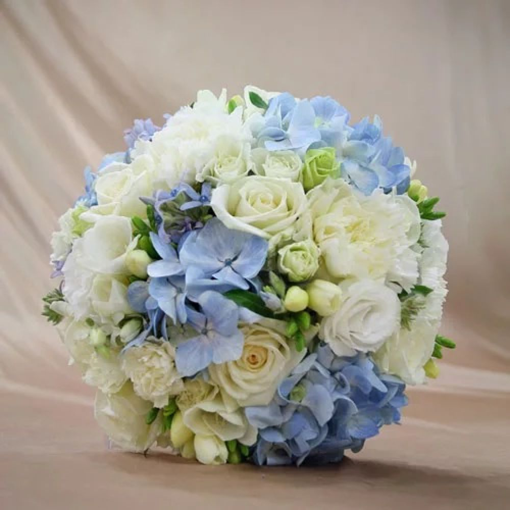 China cheap floral delivery china cheap floral delivery shopping get quotations huiya floral roses bellflower blue hydrangea bride holding flowers flowers beijing city flower delivery izmirmasajfo Image collections