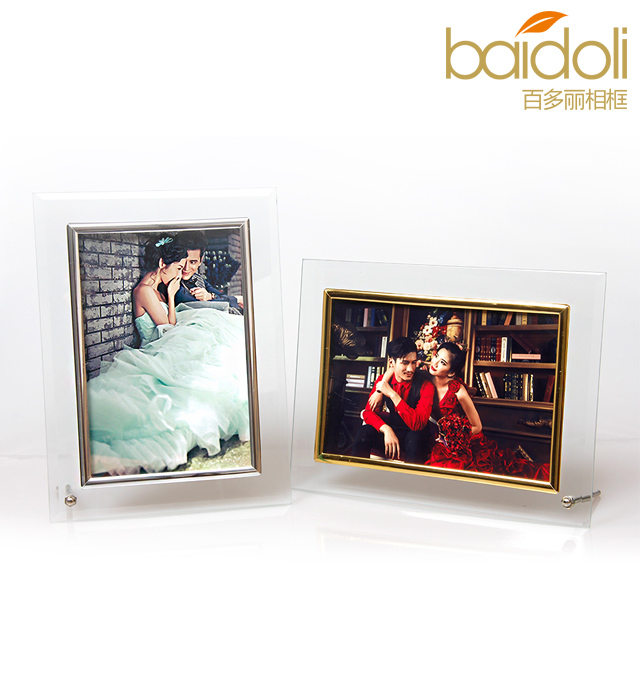 Hundreds of chardonnay 5 inch 6 inch 7 inch 8 inch photo frame swing sets crystal glass photo frame photo frame studio married yarn Certificate box