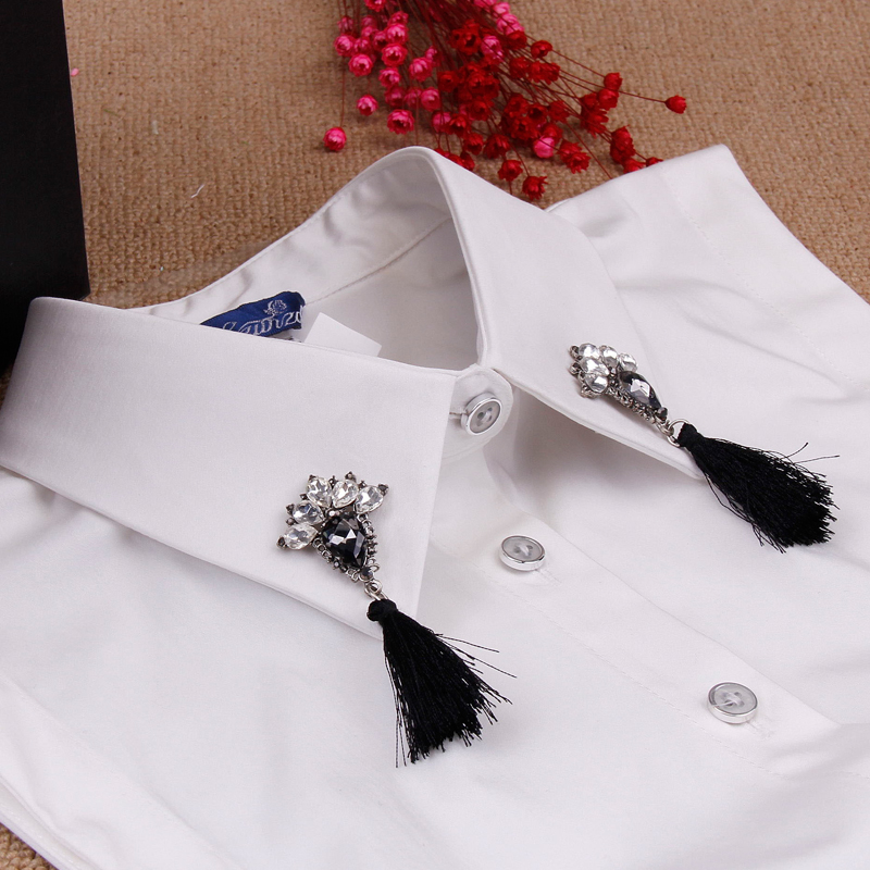 Hundreds of millions of respect the duo of new winter false collar shirt collar decorated korean fall and winter false false collar shirt collar female wild