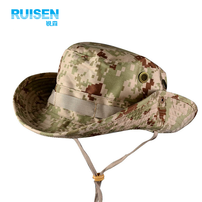 7bfd8488201 Get Quotations · I am a special forces outdoor sun visor cap ben nepalese  jungle camouflage cap hat men