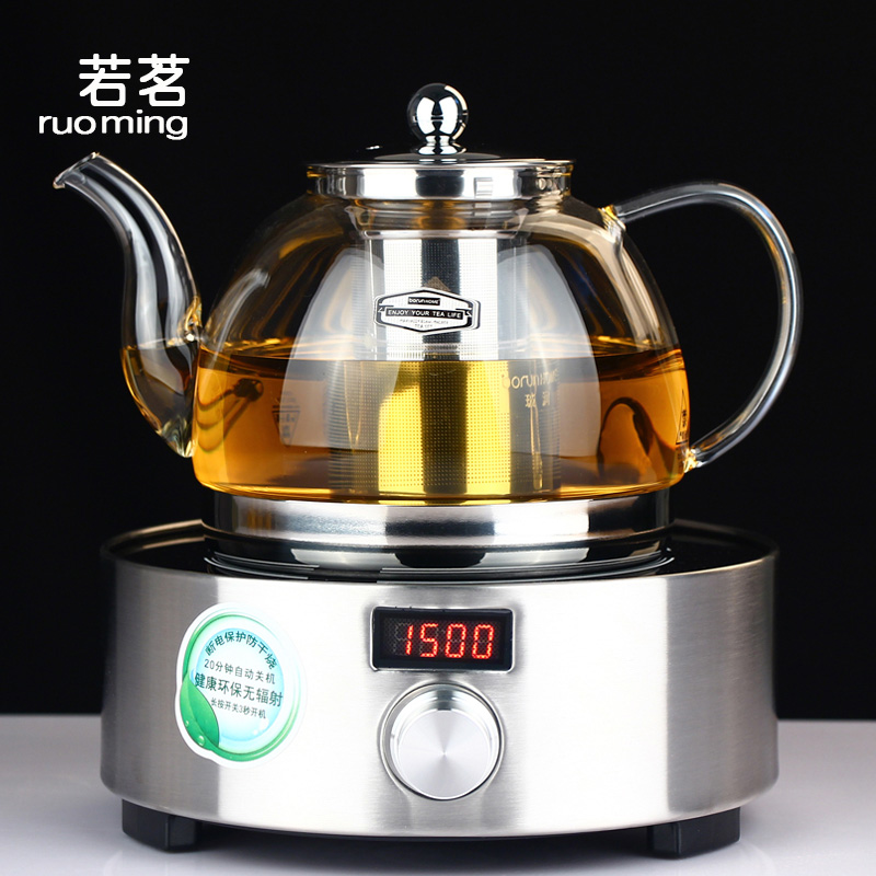 If the glass teapot set tea glass run health pot electric ceramic stove to boil water filter tea teapot boiling tea Pot