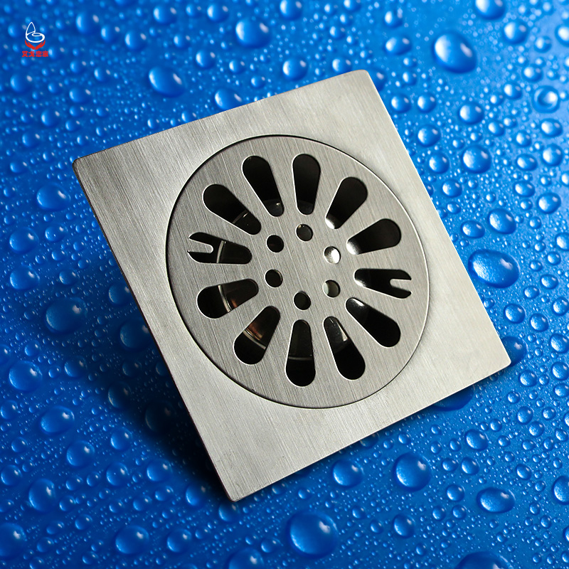 Igo love home bathroom floor drain stainless steel floor drain floor drain odor premises shower drain dl002