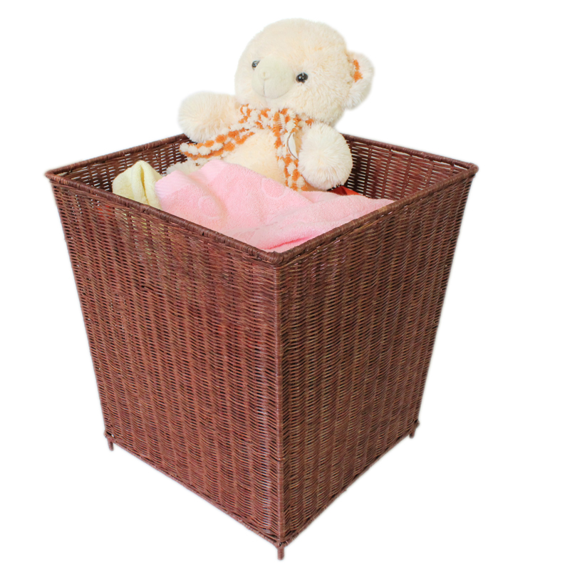 Ikea rattan storage basket laundry basket of dirty clothes storage barrels laundry basket laundry basket of dirty clothes dirty clothes basket bamboo basket Basket