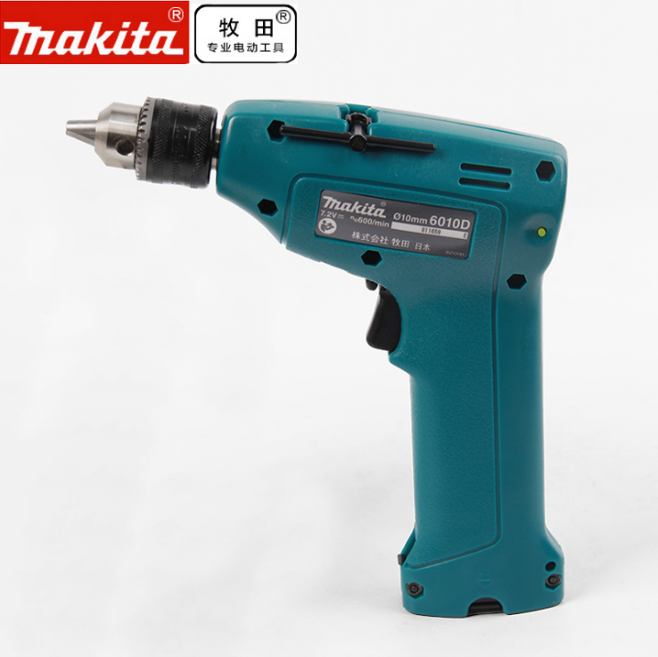 Imported from japan makita 6010dwe cordless drill reversible screwdriver hand drill electric screwdriver