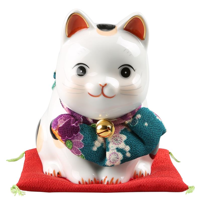 Imported Japanese Pharmacist Kiln Pray Lucky Cat Opened A Birthday Gift Ideas To Send Parents