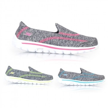 Imports of taiwan's official website direct mail skechers go walk 2-360 female casual walking shoes (walking shoes 0