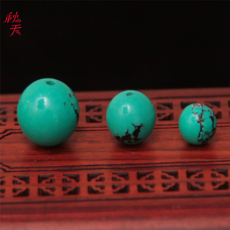 In the autumn of optimization turquoise beads loose beads spacer bead rosary beads diy accessories diamond moon and stars accessories