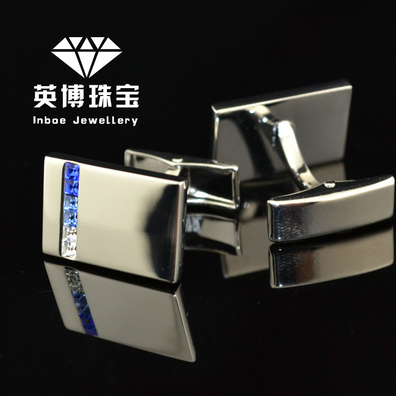 Inbev cufflinks crystal cufflinks silver cufflinks french shirt cufflinks cufflinks men