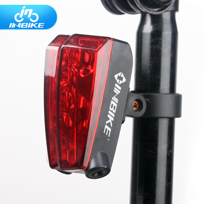Inbike taillight bike light laser safety warning lights taillights mountain bike riding bicycle accessories and equipment