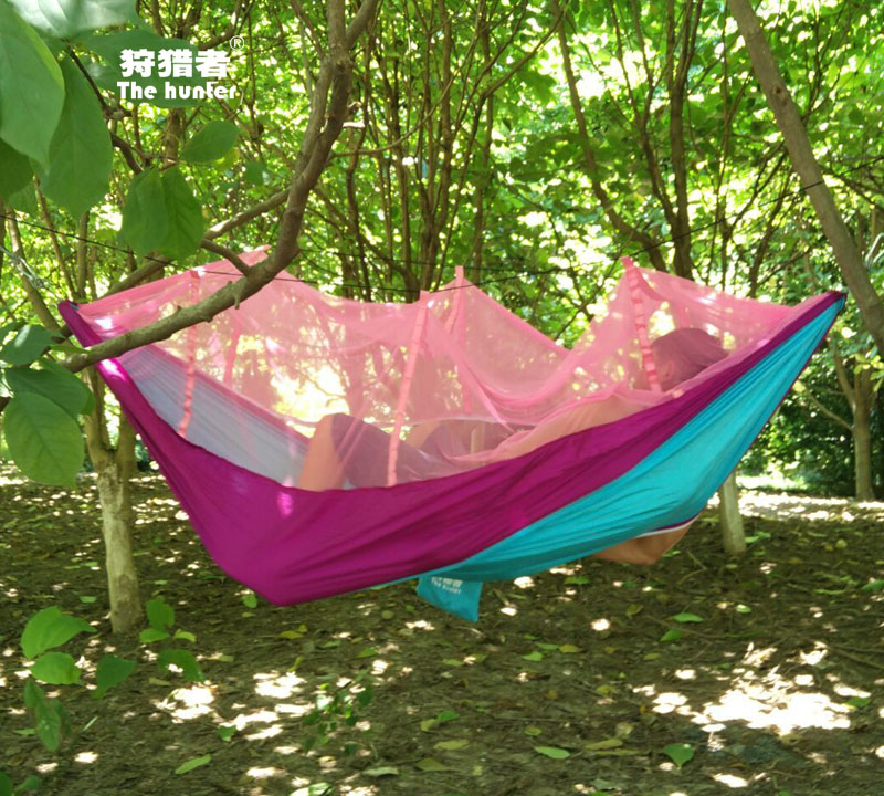 Medium image of get quotations    indoor outdoor swing hammock double parachute cloth hammock outdoor hammock  s student dormitory bedroom