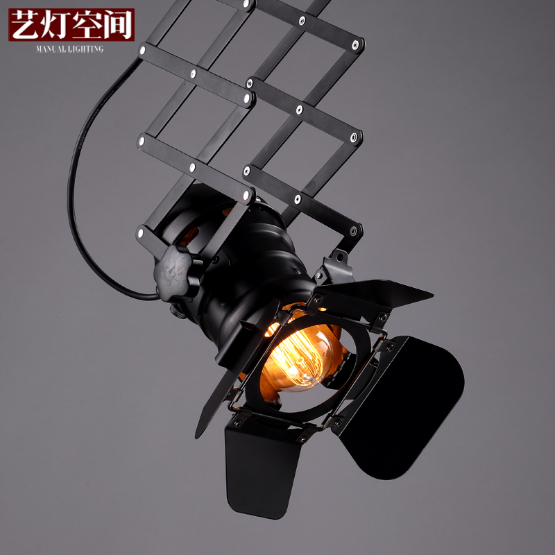 Industrial loft american country style bar probe personalized clothing store cob led ceiling spotlights track light absorption