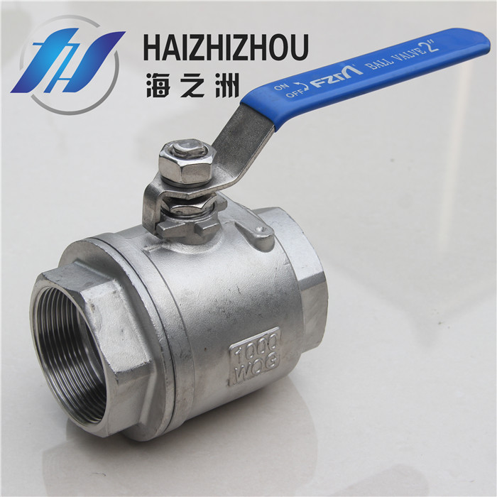 [Industry] haizhou pipe stainless steel ball 304 ball two ball valves