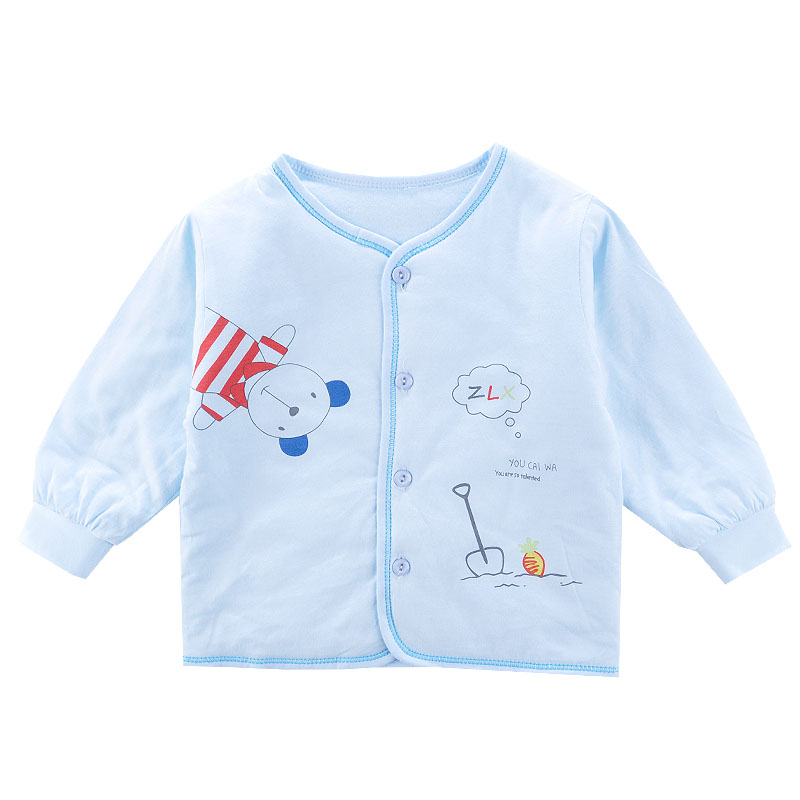 Infant warm cotton coat winter coat thin cotton jacket winter padded jacket for men and women baby children clip