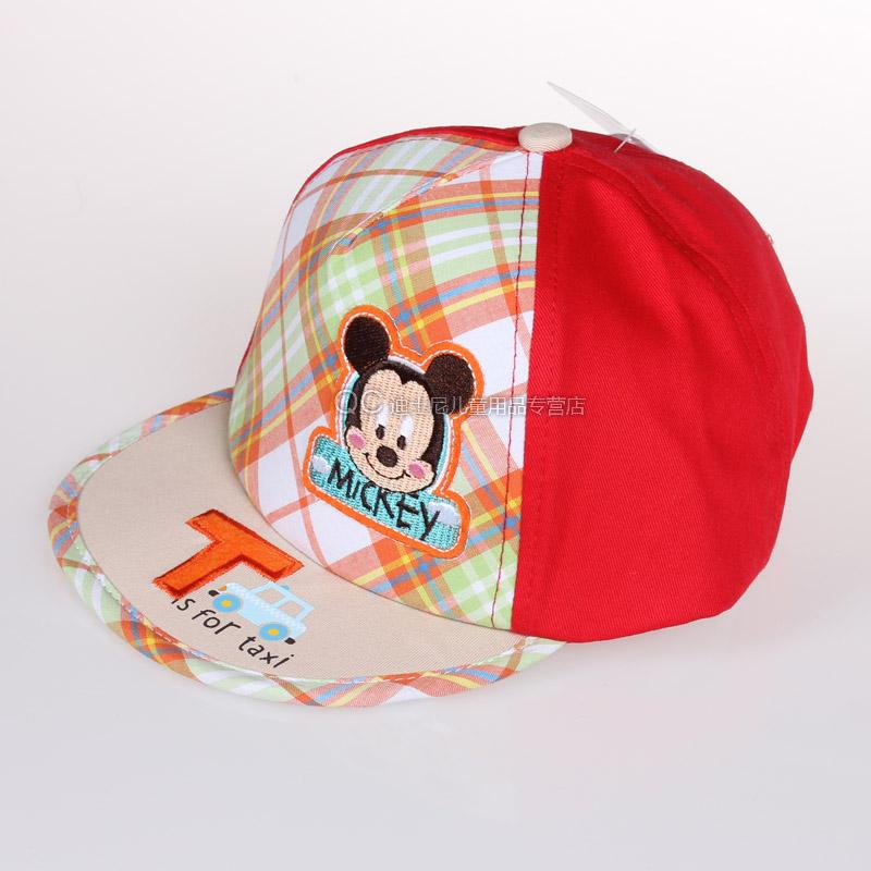 bffe16f92d8 Get Quotations · Infants and young children spring and authentic disney  mickey children s cotton cap hat cap visor hat