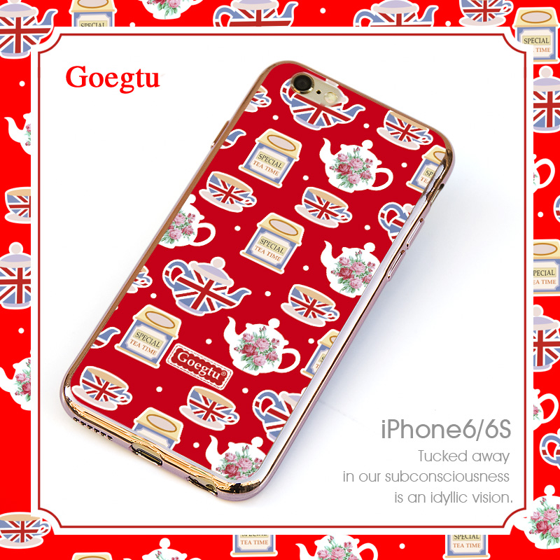 Get Quotations Iphone6s Phone Shell Le 6 Protective 4 7 New Por Brands Of Luxury Plating Thin Soft