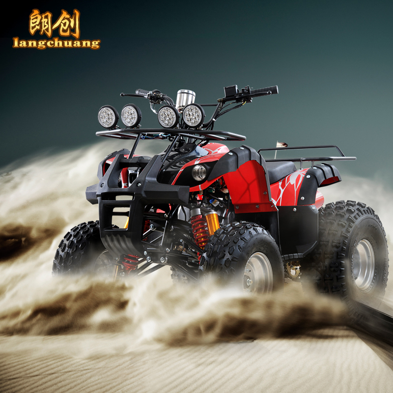 Iron tank spiderman small bull atv tires atv 110cc four motorcycle led headlamps