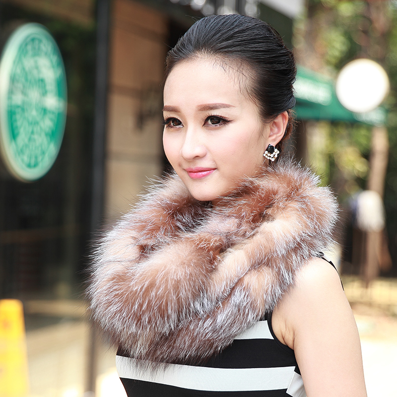 Italian miro 2016 new fox fur fur scarves scarf ms. autumn and winter scarf collars hedging korean version of the big