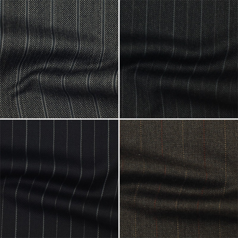 Italian pure wool men's tailored wool suit business suits suit beijing shanghai chengdu lining process