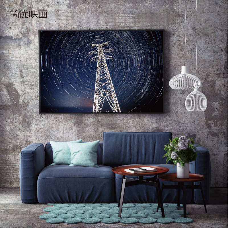 Jane excellent pictures painting modern minimalist living room sofa backdrop decorative painting mural paintings and creative landscape art