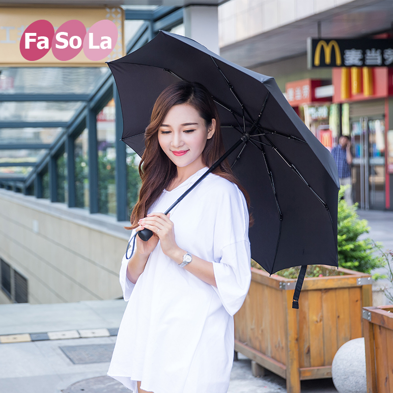Japan fasola folding umbrella men and ladies wind umbrella umbrella umbrella folded umbrella parasol umbrellas uv