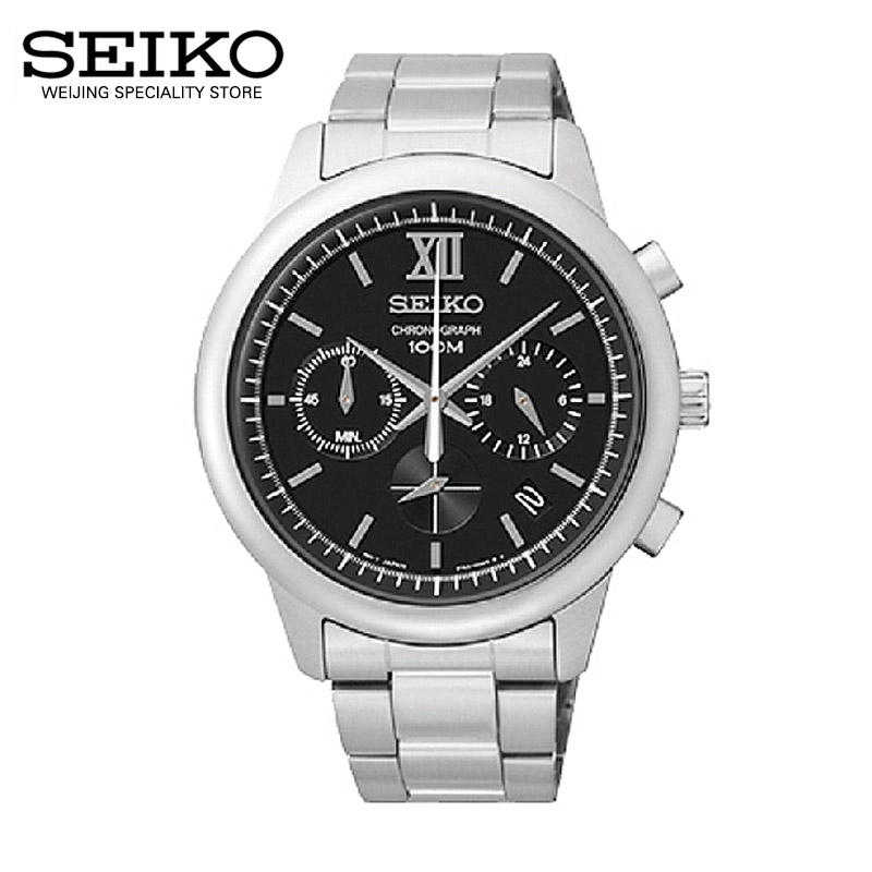 Japan imported authentic seiko watches men's fashion casual quartz watches SSB139J1