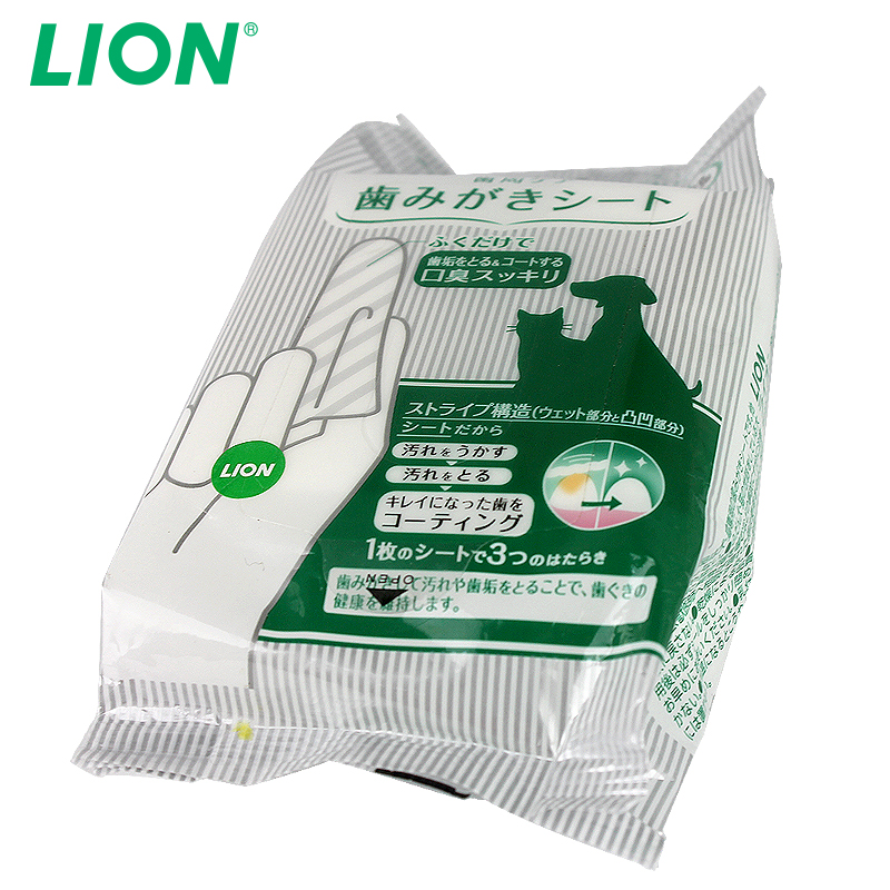 Japan lion/lion gauze gauze pet teeth cleaning tooth cleaning in addition to bad breath tartar dogs and cats generic 30